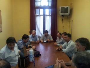 Reunion citricultura con ministro schunk