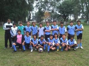 cat.sub. 12 escuela Municipal de fútbol