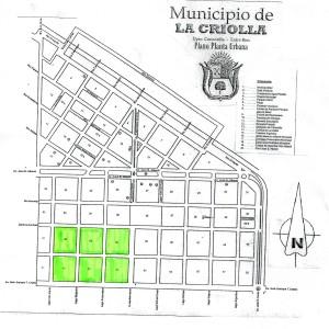 plano de los nuevos terrenos
